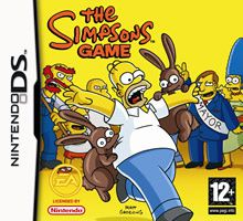 Jeux DS The Simpsons Game