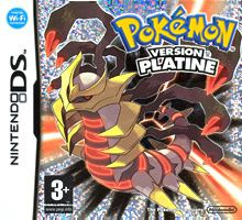 POKEMON VERSION PLATINE JEUX NINTENDO DS