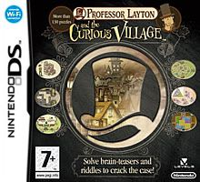 JEUX NINTENDO DS PROFESSOR LAYTON AND THE CURIOUS VILLAGE