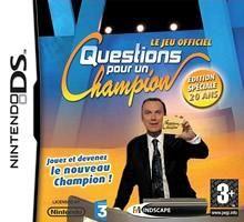 Jeux Nintendo DS Questions pour un Champion
