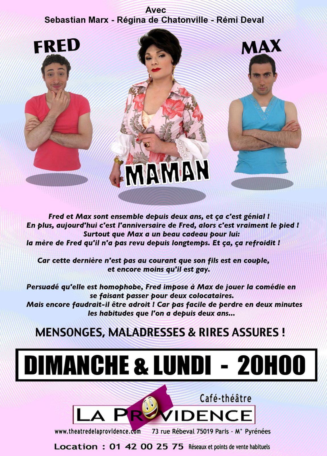 Flyer Verso Bobards à maman