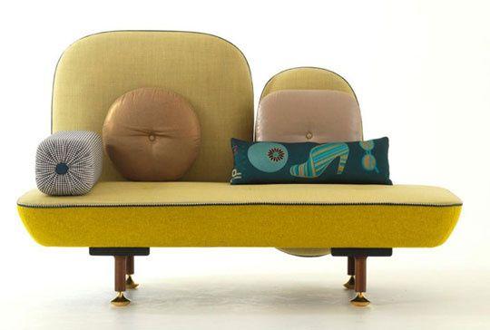 My Beautiful Backside Sofa by Nipa Doshi and Jonathan Levie
