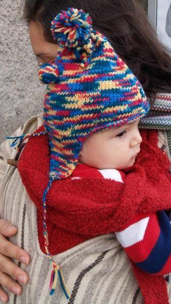 Sur l album photos vous trouverez les instructions pour tricoter un bonnet  péruvien pour un bébé taille 12-18 mois. 098e251bc6c