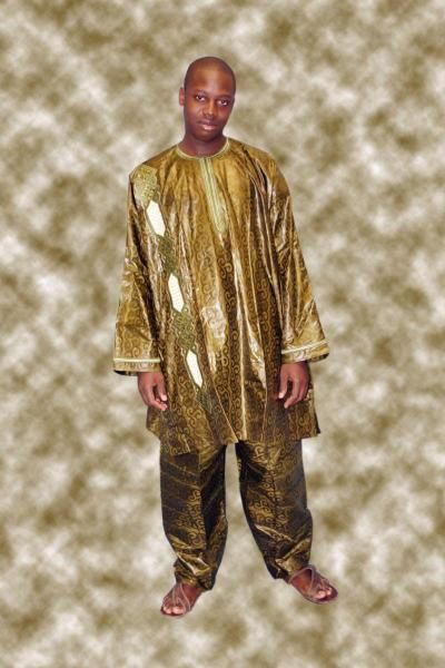 Boubou Court Bazin Brod Tenue Africaine Homme Pagne | Apk Mod Game