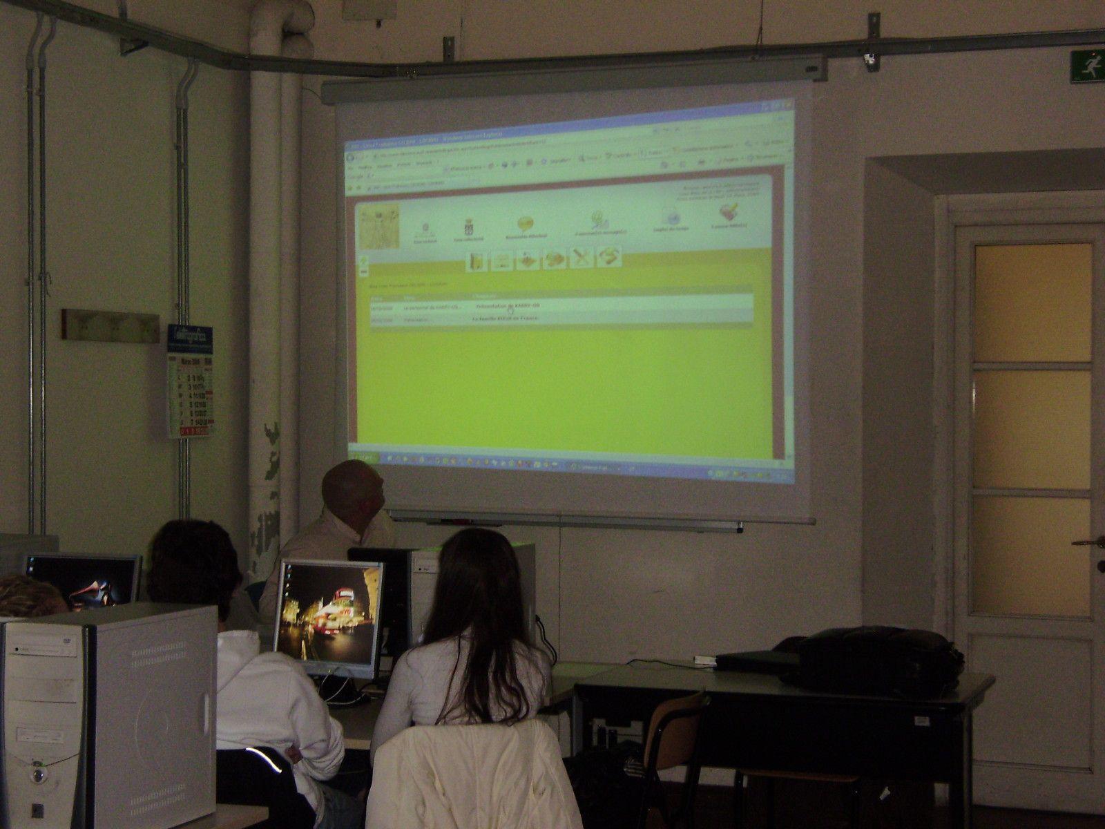 Fête européenne de la créativité à Livorno en présence de lycéens brestois de l'Iroise.