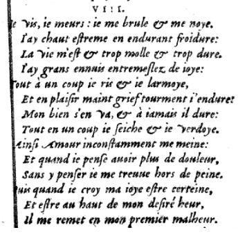 Sonnet 8