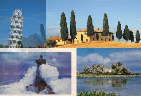 Photos du pays découvert par les lycéens d'i-voix : la Toscagne, fusion poétique et utopique de la Toscane et de la Bretagne...  http://i-voix.over-blog.com/article-livre-numerique-la-toscagne-49362986.html
