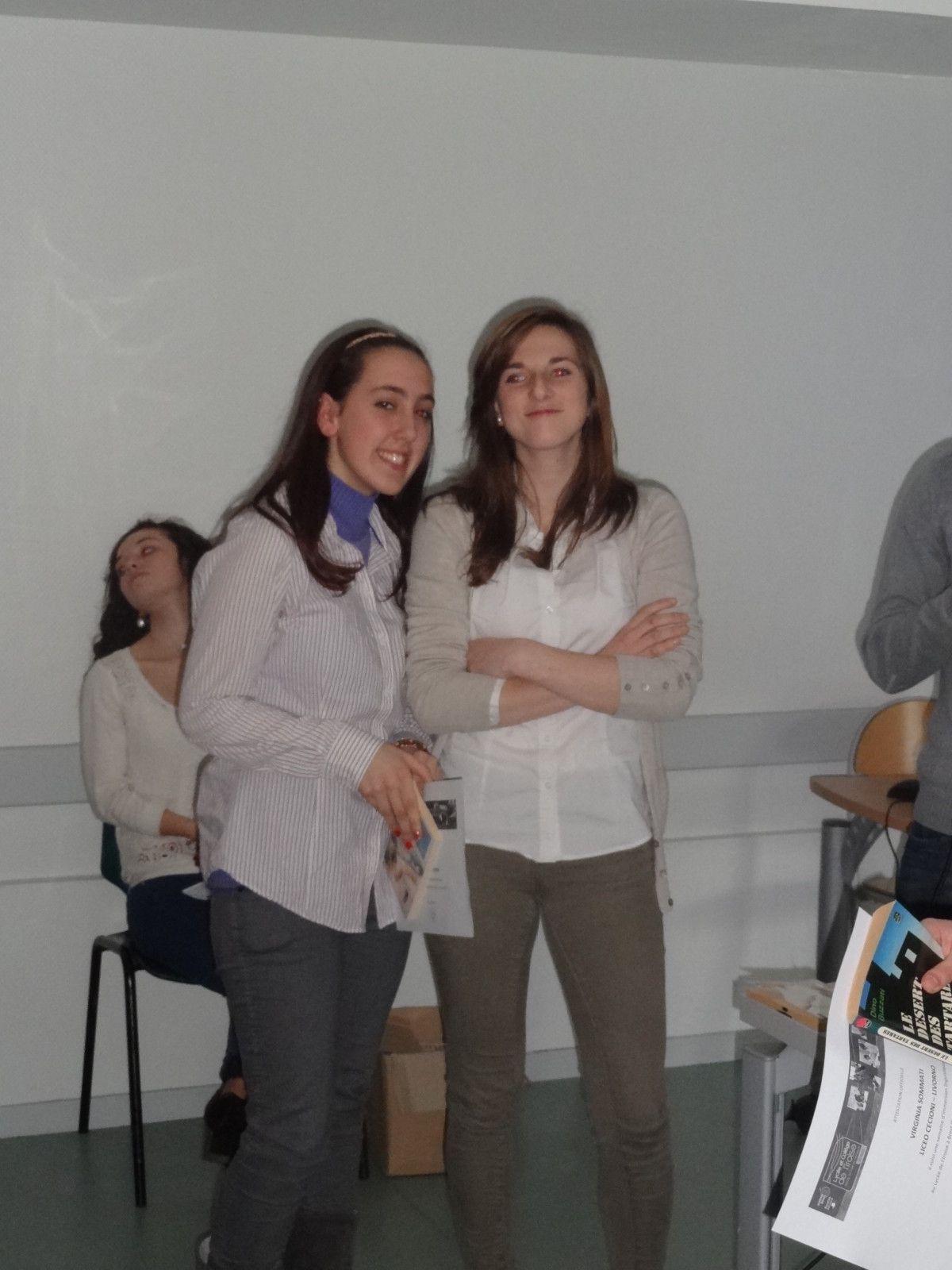 Mars 2013, 39 lycéens livournais du Liceo Cecioni séjournent à Brest chez leurs correspondants de l'Iroise.