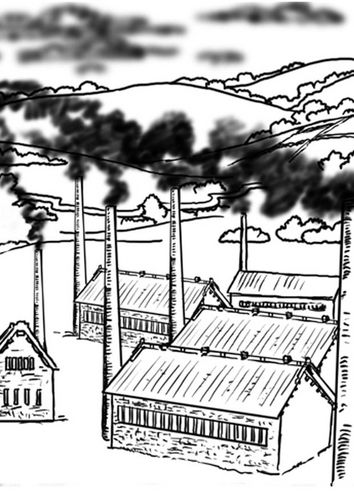 usines pollution