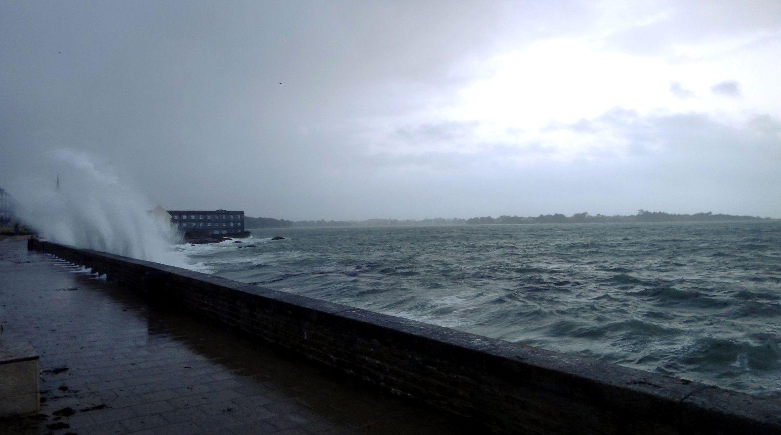 année à Concarneau finit en tempête