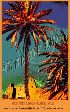 affiches anciennes maroc