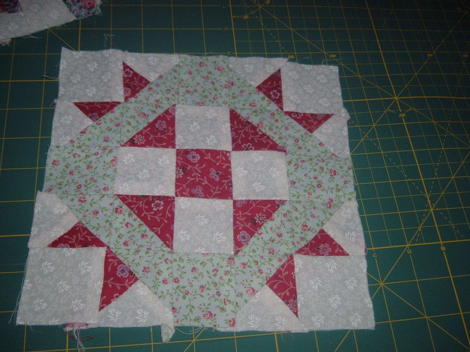 faire un couvre lit patchwork patchwork   chez  MARIE JO 04 faire un couvre lit patchwork