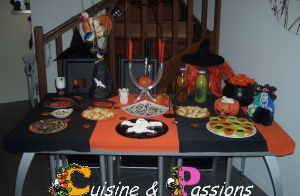 go ter d 39 halloween les recettes cuisine et passions. Black Bedroom Furniture Sets. Home Design Ideas
