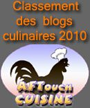 blogsculinaires2010 concours aftouch