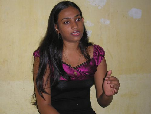 Femme indienne rencontre