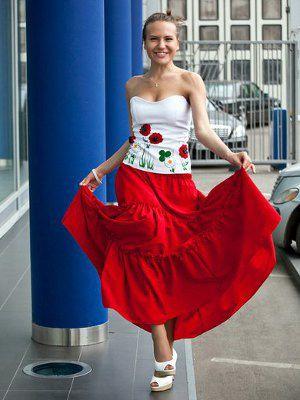 Natasha Novikova, collection pour Mercedes Benz