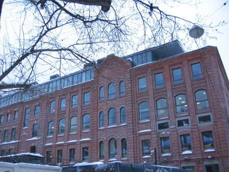 Lycée Alexandre Dumas: l'édifice