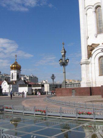 Moscou, la cathédrale du Christ-Sauveur