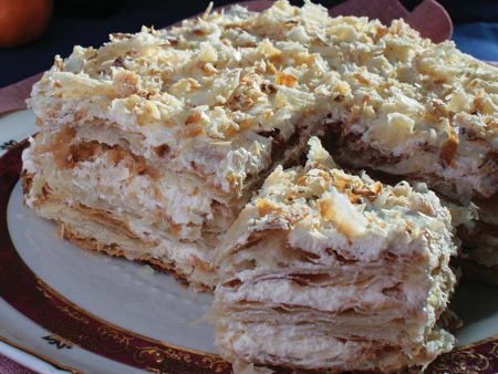 Gateau de napoleon home baking for you blog photo - Cuisine russe traditionnelle ...