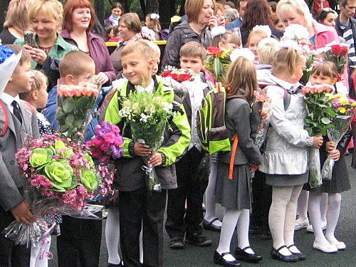 Moscou, fête du 1 septembre