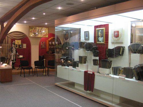 Moscou, musée de l'accordéon