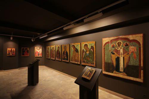 icônes russes au musée privé