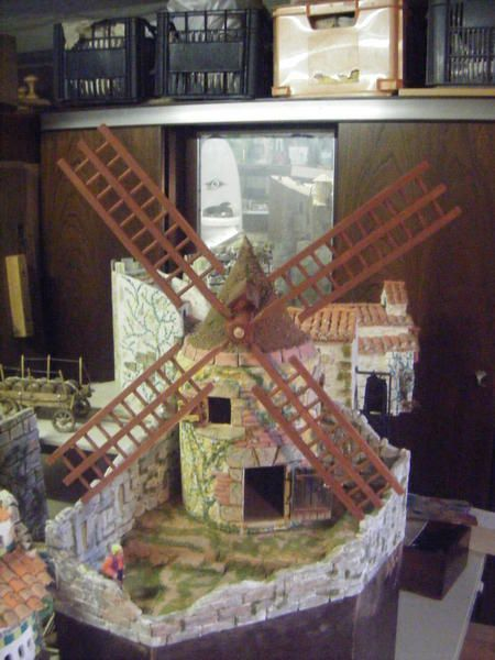 Moulin a vent cr che d 39 amorasterix - Fabrication moulin a vent ...