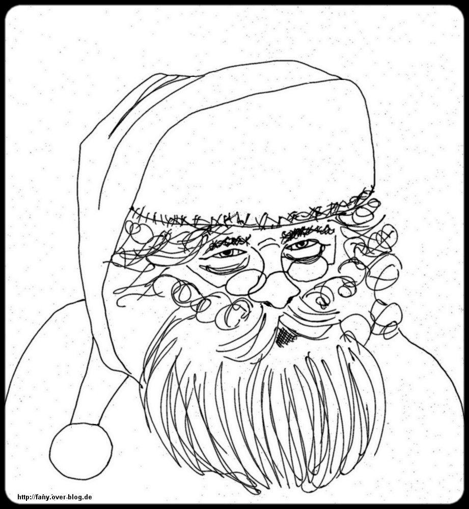 Ausmalbilder Weihnachten Weihnachtsmann Santa Klaus Malen Und