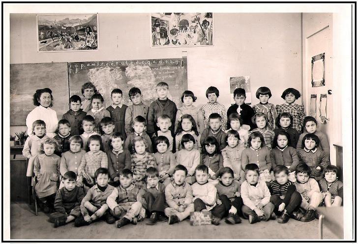 semaine scolaire en 1960