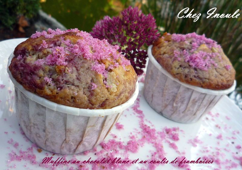 Muffins roses