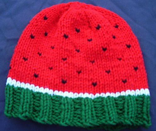 watermelon hat