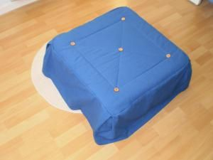 tuto de recyclage de matelas de b b en mousse byseverine. Black Bedroom Furniture Sets. Home Design Ideas