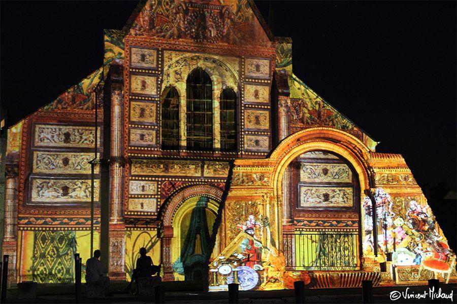 Chartes en lumières - Chapelle Sainte-Foy
