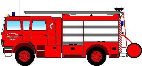Dessin de pompier en couleur blog sur les voitures - Leo le camion pompier ...