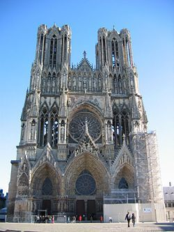 Champagne-Ardenne Marne Reims cathedrale 00