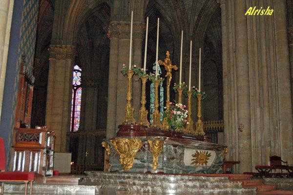 Champagne-Ardenne Marne Reims cathedrale 05