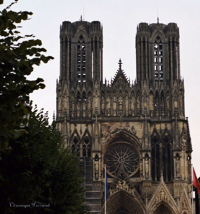 Champagne-Ardenne Marne Reims cathedrale 20
