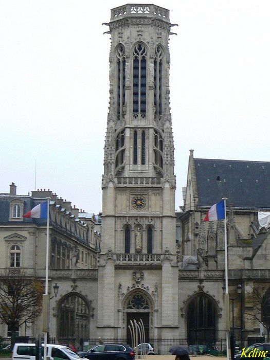 Ile de France ,Ile de France ,Paris,eglise Saint-Germain-l'Auxerrois-75001