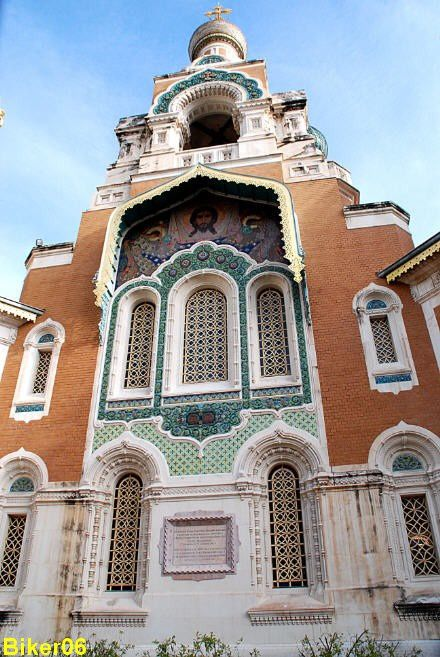PACA Alpes-Maritimes Nice cathedrale-russe-ST-Nicolas 01