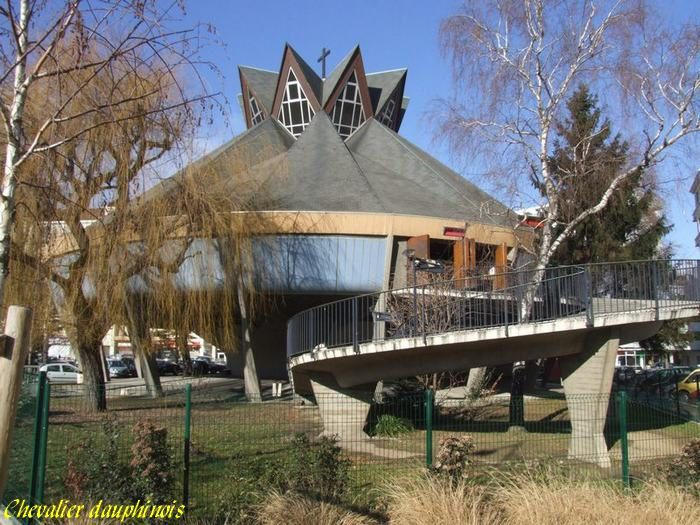Rhone-Alpes_, Isere, Grenoble, Eglise-st-Jean,38000