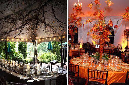 décoration de mariage theme automne - Mariage idées