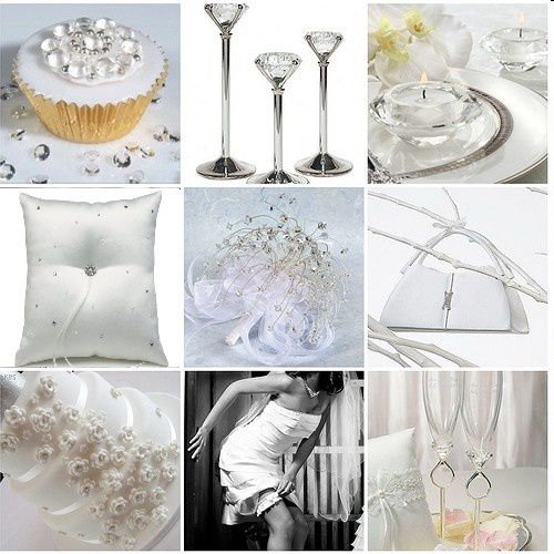 decoration mariage theme diamant
