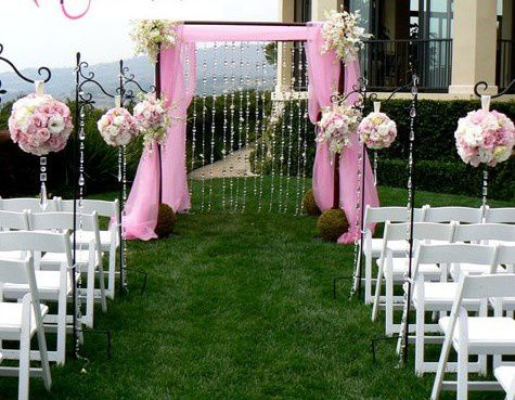 Beautiful Decoration Jardin Pour Mariage Pictures - Yourmentor ...
