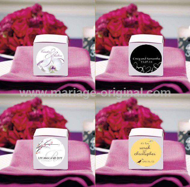 sticker boite a drageejpg - Drages Personnalises Mariage