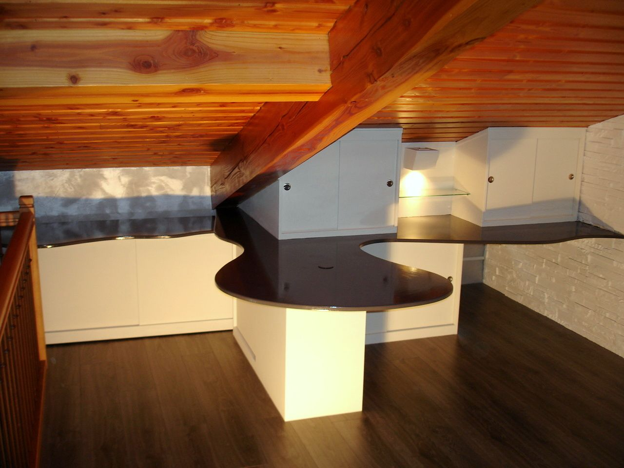 Awesome mezzanine sous combles gallery awesome interior for Interior design 08003