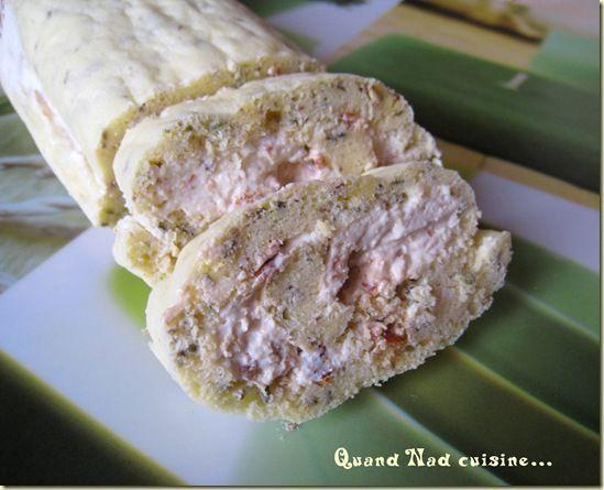 biscuit roulé parmesan origan