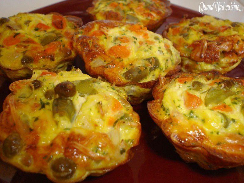 Petits Flans De Macedoine Quand Nad Cuisine