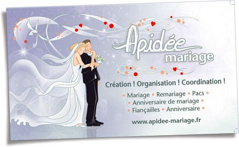 Carte De Visite Wedding Planner
