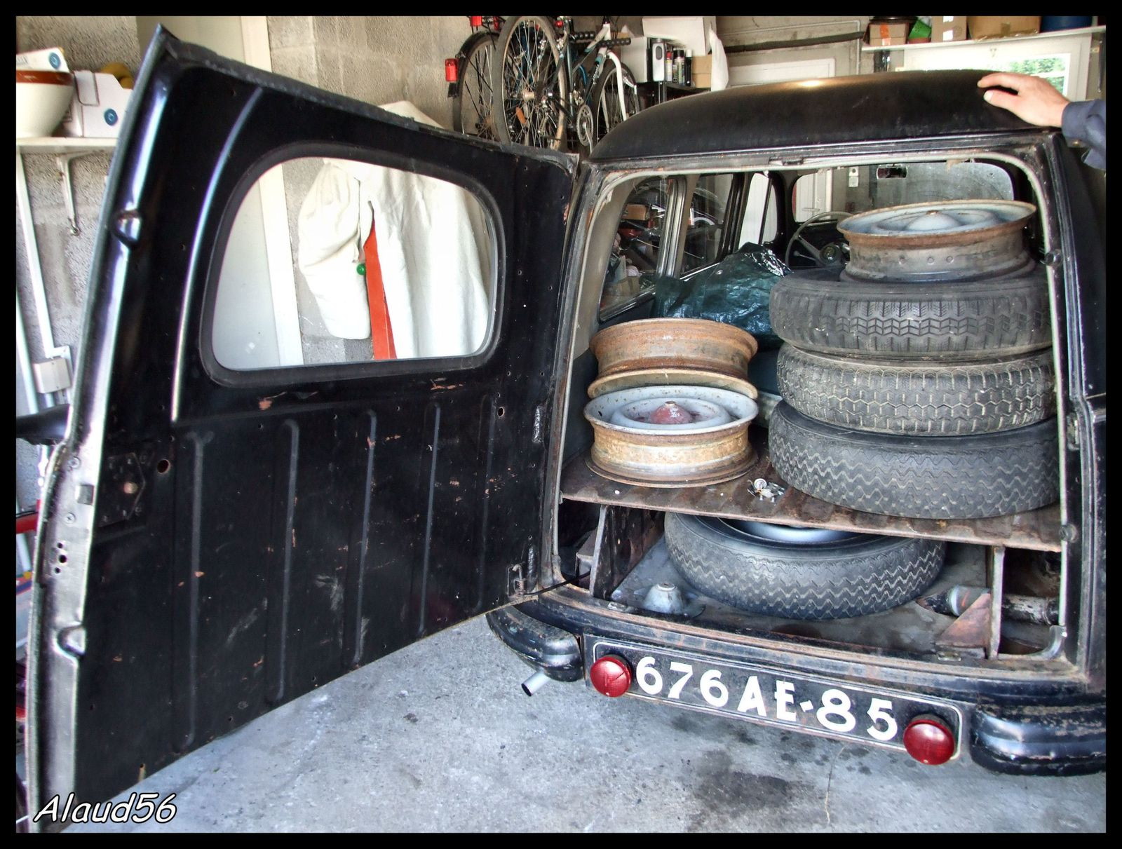 Peugeot 203 break de 1953 nos belles anciennes alaud56 for Garage opel saint malo