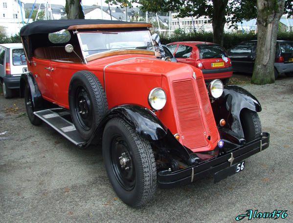 Renault K Z 4 Torpedo Commercial De 1928 Nos Belles